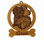 081398 Australian Shepherd Head #2 Personalized with Your Dog's Name