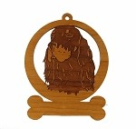 083277 Gordon Setter Head Ornament Personalized with Your Dog's Name