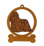 083459 Komondor Ornament Personalized with Your Dog's Name