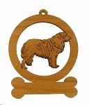08396 Leonberger Ornament Personalized with Your Dog's Name