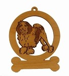 083508 Lowchen #1 Ornament Personalized with Your Dog's Name