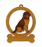 083597 Newfoundland Landseer Ornament Personalized with Your Dog's Name
