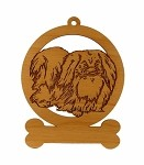 083699  Pekingese Ornament Personalized with Your Dog's Name