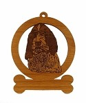 084013 Spinone Italiano Ornament Personalized with Your Dog's Name