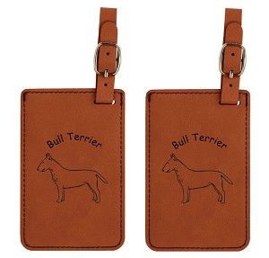 Bulll Terrier #2 Luggage Tag 2 Pack L2036