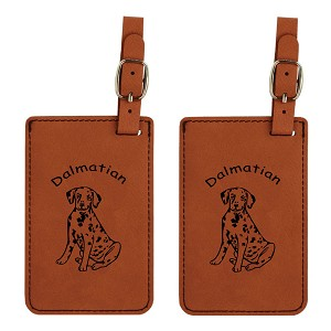 Dalmatian Pup Luggage Tag 2 Pack L3045