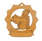 Squirrel Personalized Ornament