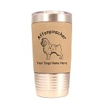 1015 Affenpinscher Standing 20oz Polar Camel Tumbler with Lid Personalized with Your Dog's Name