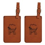 Afghan Standing Luggage Tag 2 Pack L1026