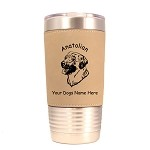1281 Anatolian Head #1 20oz Polar Camel Tumbler with Lid Personalized with Your Dog's Name