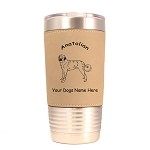 1283 Anatolian Standing #1 20oz Polar Camel Tumbler with Lid Personalized with Your Dog's Name