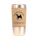 1287 Appenzeller Sennenhund Standing #1 20oz Polar Camel Tumbler with Lid Personalized with Your Dog's Name