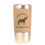 1309 Australian Cattle Standing #2 20oz Polar Camel Tumbler with Lid Personalized with Your Dog's Name