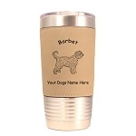 1434 Barbet Standing #1 20oz Polar Camel Tumbler with Lid Personalized with Your Dog's Name