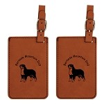 Bernese Mountain Dog #1 Luggage Tag 2 Pack L1714