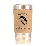 1845 Border Collie Herding #1 20oz Polar Camel Tumbler with Lid Personalized with Your Dog's Name