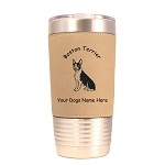 1922 Boston Terrier Sitting 20 oz Polar Camel Tumbler with Lid Personalized with Your Dog's Name