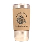 1932 Bouvier des Flandres Head #1 20 oz Polar Camel Tumbler with Lid Personalized with Your Dog's Name