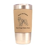1935 Bouvier des Flandres Standing #1 20 oz Polar Camel Tumbler with Lid Personalized with Your Dog's Name