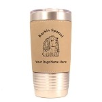 1963 Boykin Spaniel Head #1 20 oz Polar Camel Tumbler with Lid Personalized with Your Dog's Name