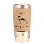 1989A Brittany Standing #1 20 oz Polar Camel Tumbler with Lid Personalized with Your Dog's Name