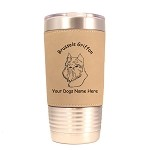 2005 Brussels Griffon Head #1 20 oz Polar Camel Tumbler with Lid Personalized with Your Dog's Name