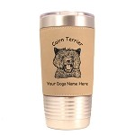 2048 Cairn Terrier Head 20 oz Polar Camel Tumbler with Lid Personalized with Your Dog's Name