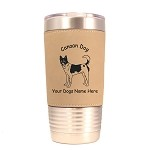 2061 Canaan Dog Standing #1 20 oz Polar Camel Tumbler with Lid Personalized with Your Dog's Name