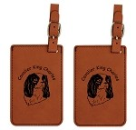 Cavalier King Charles Luggage Tag 2 Pack L2085
