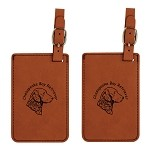 Chessie Head Luggage Tag 2 Pack L2095