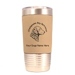 2095 Chesapeake Bay Retriever Head  20 oz Polar Camel Tumbler with Lid Personalized with Your Dog's Name