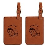 Chow Chow Luggage Tag 2 Pack L2138