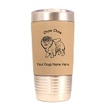 2138 Chow Chow Standing #1 20 oz Polar Camel Tumbler with Lid Personalized with Your Dog's Name