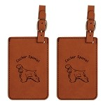 Cocker Spaniel Luggage Tag 2 Pack L2169