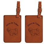 Coton de Tulear #2 Luggage Tag 2 Pack L3013