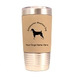 3175 Entlebucher Mountain Dog Standing #1 20 oz Polar Camel Tumbler with Lid Personalized with Your Dog's Name