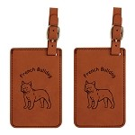 French Bulldog  Luggage Tag 2 Pack L3201
