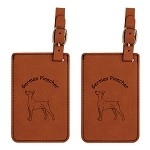 German Pinscher  Luggage Tag 2 Pack L3207