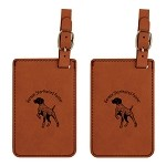 German Shorthair Pointer #1  Luggage Tag 2 Pack L3225