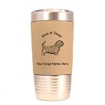3237 Glen of Imaal Standing #1 20 oz Polar Camel Tumbler with Lid Personalized with Your Dog's Name