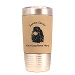 3277 Gordon Setter Head #1 20 oz Polar Camel Tumbler with Lid Personalized with Your Dog's Name