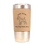 3381 Irish Terrier Standing #1 20 oz Polar Camel Tumbler with Lid Personalized with Your Dog's Name