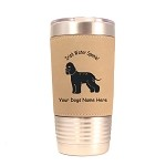 3398 Irish Water Spaniel Standing #1 20 oz Polar Camel Tumbler with Lid Personalized with Your Dog's Name
