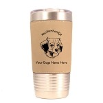 3460 Kooikerhondje Head #1 20 oz Polar Camel Tumbler with Lid Personalized with Your Dog's Name