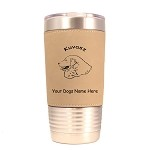 3469 Kuvasz Head #1 20 oz Polar Camel Tumbler with Lid Personalized with Your Dog's Name