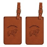 Leonberger Luggage Tag 2 Pack L3496