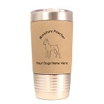 3562 Min Pin Standing #1 20 oz Polar Camel Tumbler with Lid Personalized with Your Dog's Name