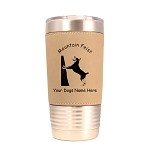 3574 Mountain Feist #1 20 oz Polar Camel Tumbler with Lid Personalized with Your Dog's Name