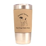 3669 Parson Terrier Facing Front #1 20 oz Polar Camel Tumbler with Lid Personalized with Your Dog's Name