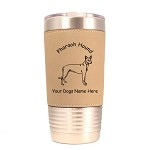 3706 Pharaoh Hound Standing #1 20 oz Polar Camel Tumbler with Lid Personalized with Your Dog's Name